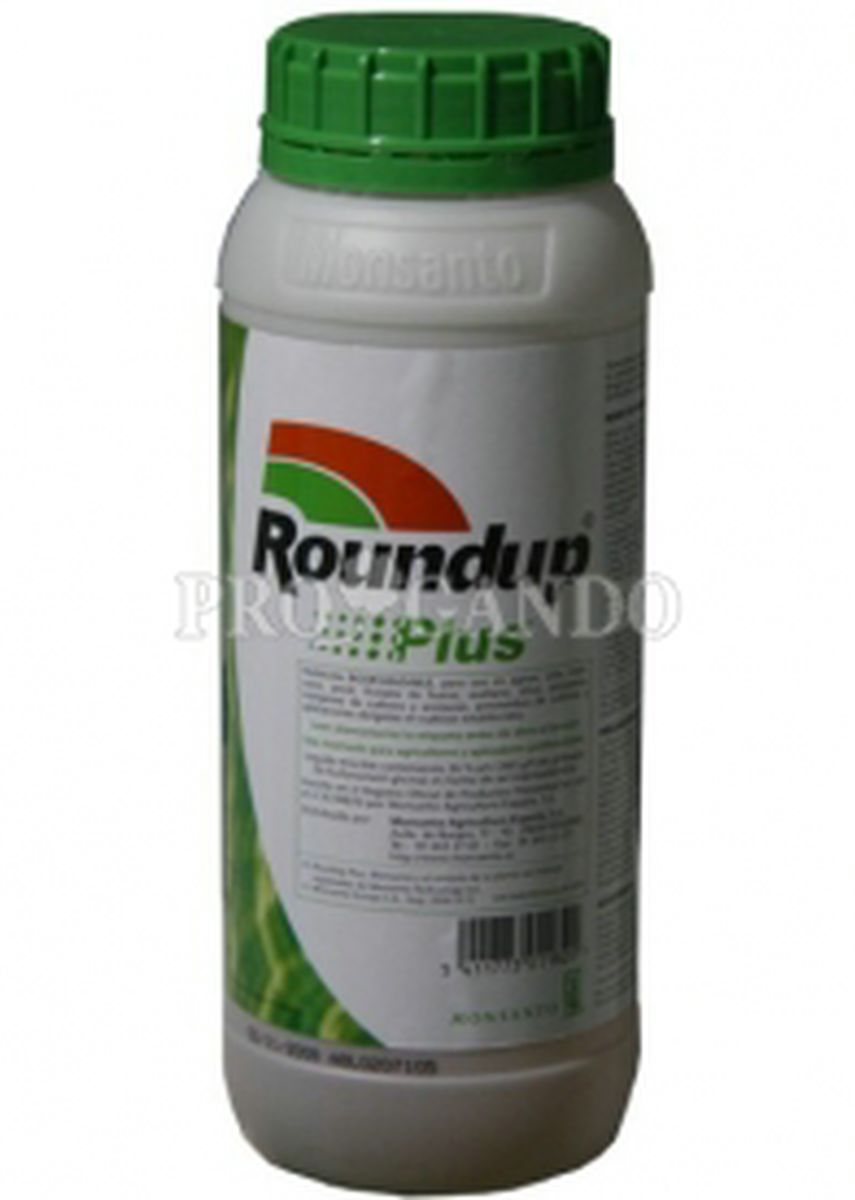 Herbicida RONDOUP PLUS.